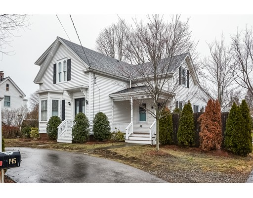 Single Family Home for Sale at 145 N.Main Street Natick, Massachusetts 01760 United States