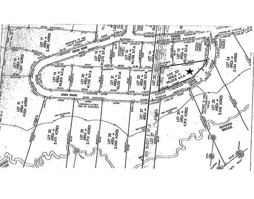 土地,用地 为 销售 在 128 Verde Drive, Lot 23 Greenfield, 01301 美国