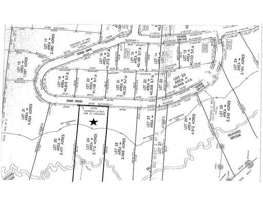 Land for Sale at 99 Verde Drive, Lot 29 Greenfield, 01301 United States