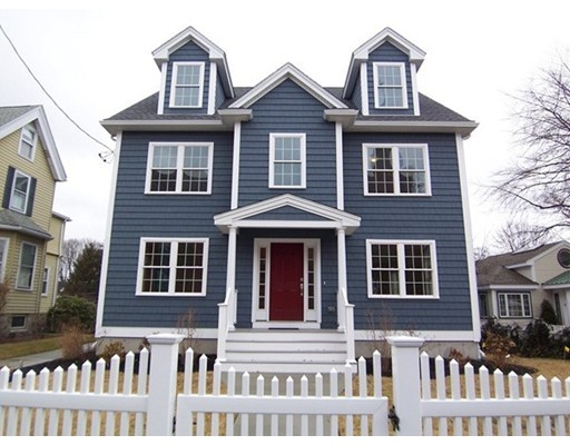 Single Family Home for Rent at 13 Chestnut Street Arlington, Massachusetts 02474 United States