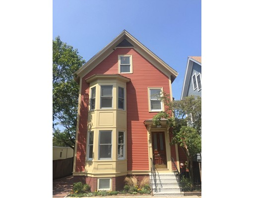 Single Family Home for Rent at 33 Fairmont Avenue Cambridge, Massachusetts 02139 United States