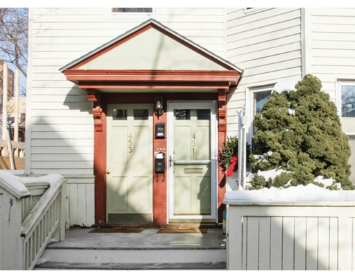 Single Family Home for Rent at 451 Franklin Street Cambridge, Massachusetts 02139 United States