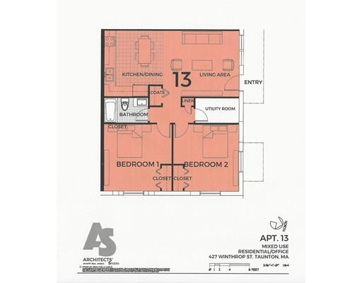 独户住宅 为 出租 在 427 Winthrop Street Taunton, 02780 美国