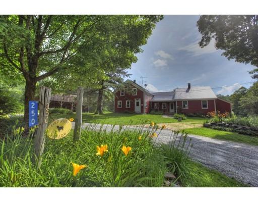 独户住宅 为 销售 在 250 Cold Spring Road Sandisfield, 马萨诸塞州 01255 美国