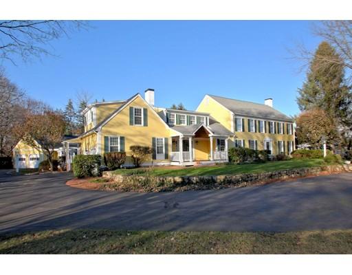 واحد منزل الأسرة للـ Sale في 62 Old Connecticut Path 62 Old Connecticut Path Wayland, Massachusetts 01778 United States