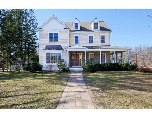 Maison unifamiliale pour l Vente à 68 Fletcher Road Bedford, Massachusetts 01730 États-Unis