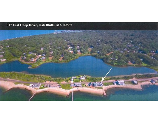 Single Family Home for Sale at 317 East Chop Drive 317 East Chop Drive Oak Bluffs, Massachusetts 02557 United States