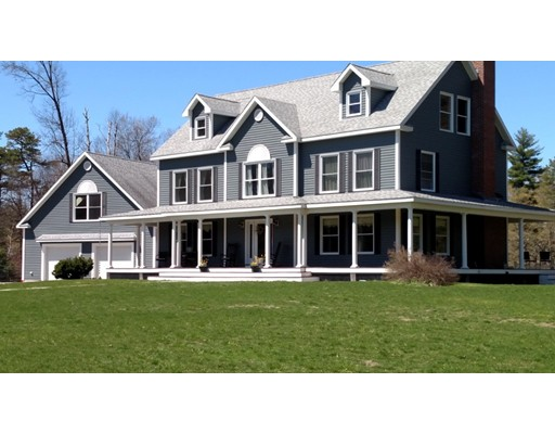 Single Family Home for Sale at 216 Longley Road Groton, Massachusetts 01450 United States