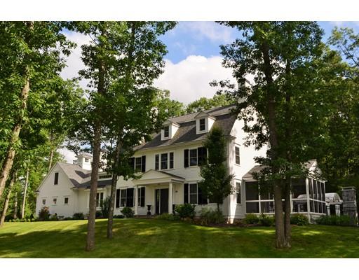 Частный односемейный дом для того Продажа на 29 Mill Pond Road Bolton, Массачусетс 01740 Соединенные Штаты