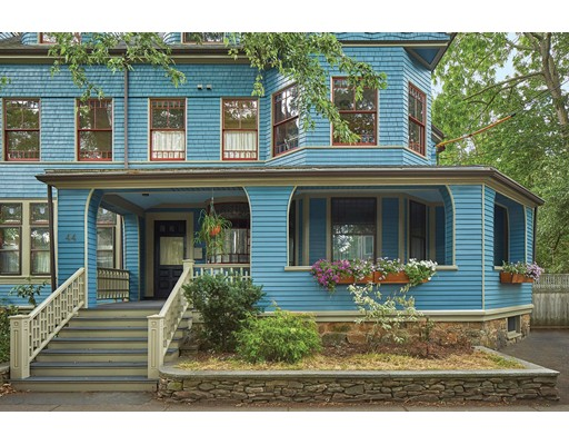 Single Family Home for Sale at 44 Cypress Street Brookline, Massachusetts 02445 United States