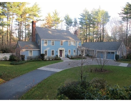 Single Family Home for Sale at 52 Sylvan Lane Weston, Massachusetts 02493 United States