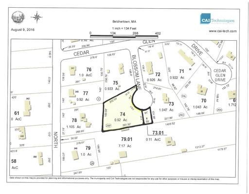 Lot 74 Blossom Lane, Belchertown, MA 01007