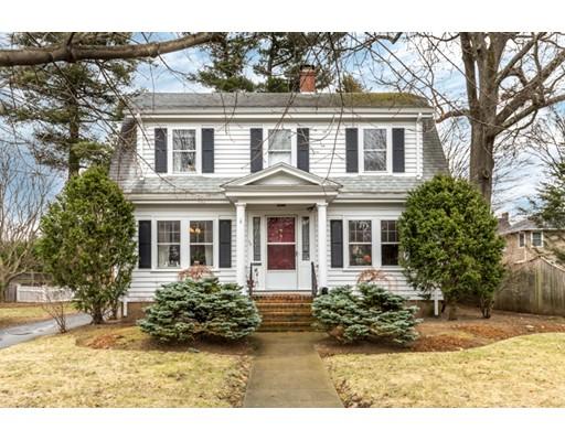 Single Family Home for Sale at 72 Mayo Avenue Needham, Massachusetts 02492 United States