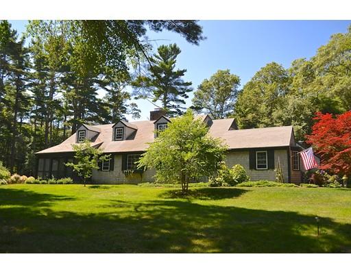 Maison unifamiliale pour l Vente à 10 Holly Road Marion, Massachusetts 02738 États-Unis