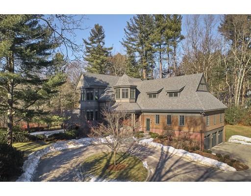 Maison unifamiliale pour l Vente à 41 Stony Brook Road 41 Stony Brook Road Lincoln, Massachusetts 01773 États-Unis