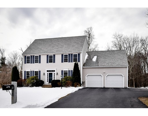 Single Family Home for Sale at 22 Hardwick Road Ashland, Massachusetts 01721 United States