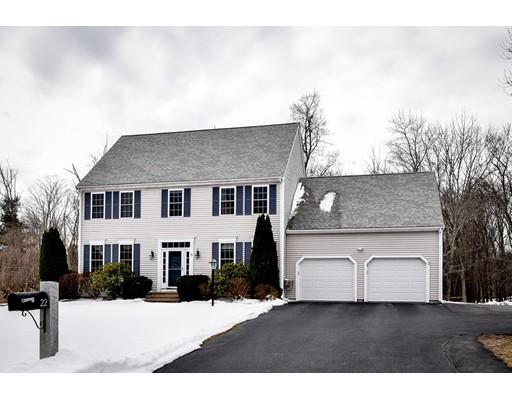 Частный односемейный дом для того Продажа на 22 Hardwick Road Ashland, Массачусетс 01721 Соединенные Штаты