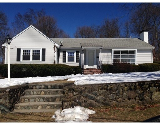 Single Family Home for Rent at 72 Vernon Road Belmont, Massachusetts 02478 United States