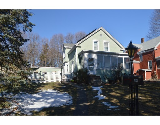 Single Family Home for Sale at 44 Jackson Street Canton, Massachusetts 02021 United States