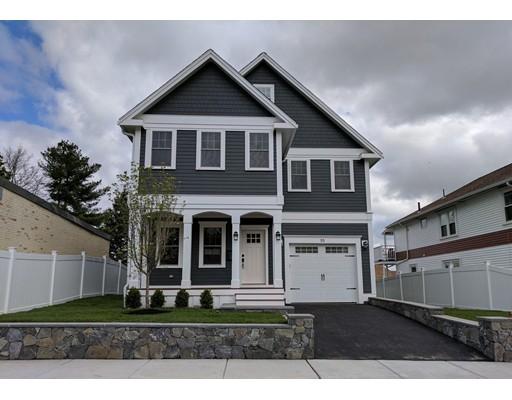Частный односемейный дом для того Продажа на 55 Concord Avenue Belmont, Массачусетс 02478 Соединенные Штаты