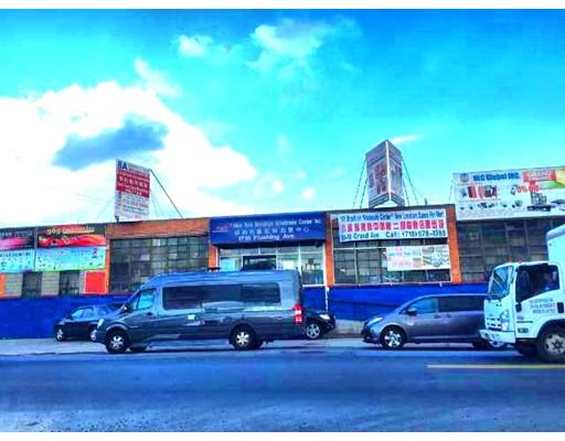 商用 为 销售 在 1710 Flushing Avenue Ridgewood Ridgewood, 纽约州 11385 美国