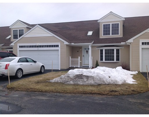 Condominium for Sale at 63 Hillside village Drive West Boylston, Massachusetts 01583 United States