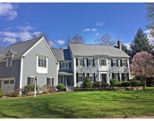 Single Family Home for Sale at 15 Glen Brook Road Wellesley, Massachusetts 02481 United States