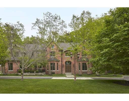 Maison unifamiliale pour l Vente à 188 Old Connecticut Path Wayland, Massachusetts 01778 États-Unis