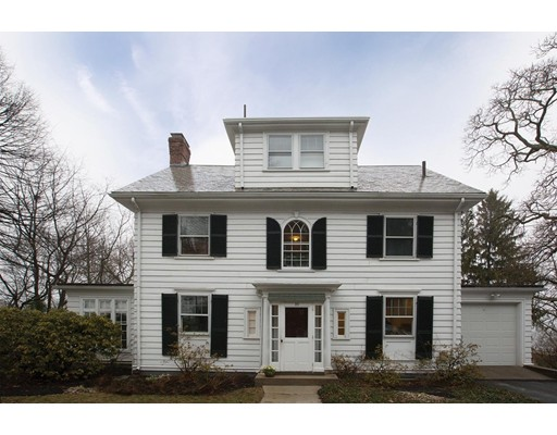 Single Family Home for Sale at 85 Waban Hill Rd N Newton, Massachusetts 02467 United States