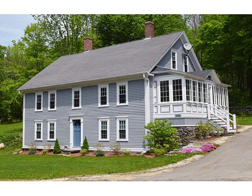 Single Family Home for Sale at 1224 Petersham Road 1224 Petersham Road Hardwick, Massachusetts 01031 United States