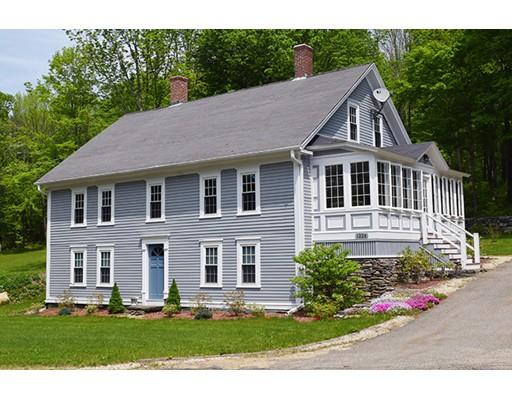 Частный односемейный дом для того Продажа на 1224 Petersham Road 1224 Petersham Road Hardwick, Массачусетс 01031 Соединенные Штаты