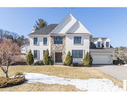 Single Family Home for Sale at 416 Brookline Street Newton, Massachusetts 02459 United States