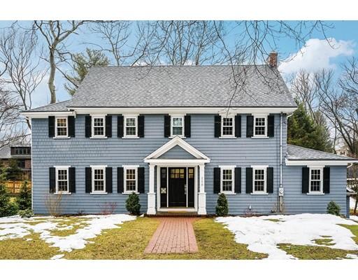 Single Family Home for Sale at 250 Dorset Road Newton, Massachusetts 02468 United States