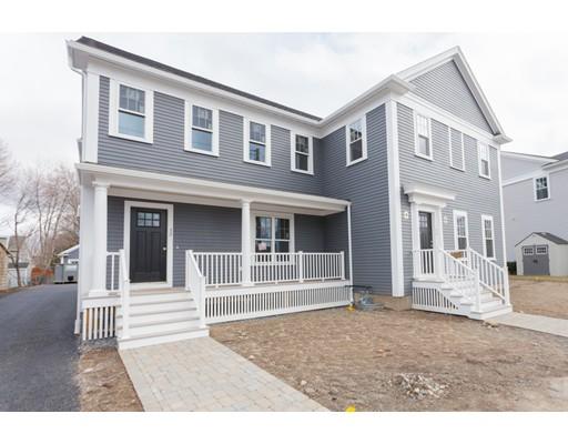 Appartement en copropriété pour l Vente à 52 White Street Belmont, Massachusetts 02478 États-Unis
