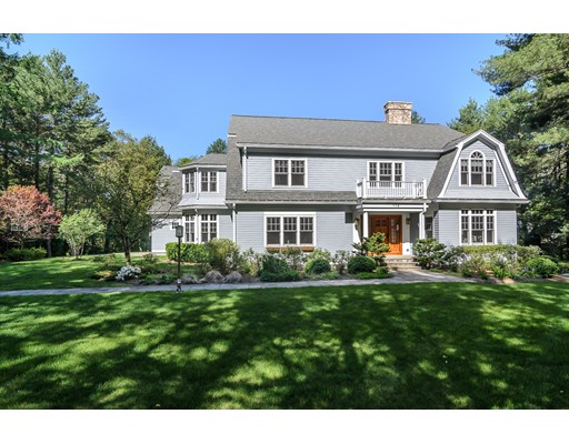 Частный односемейный дом для того Продажа на 112 Lincoln Road 112 Lincoln Road Wayland, Массачусетс 01778 Соединенные Штаты