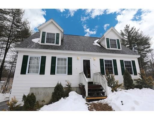 Casa Unifamiliar por un Venta en 647 Shaker Road Canterbury, Nueva Hampshire 03224 Estados Unidos