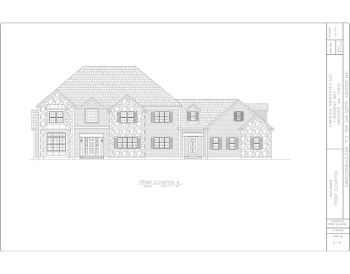 Частный односемейный дом для того Продажа на Manning Way Andover, Массачусетс 01810 Соединенные Штаты