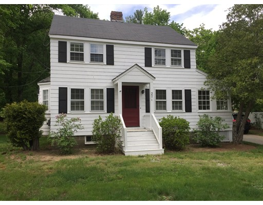Single Family Home for Rent at 271 Concord Road Bedford, Massachusetts 01730 United States