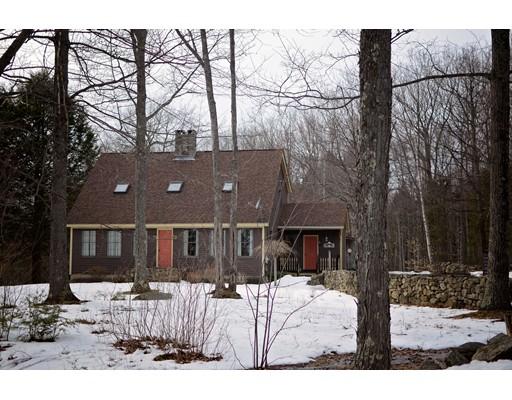 Casa Unifamiliar por un Venta en 55 Gibson Road Ashburnham, Massachusetts 01430 Estados Unidos