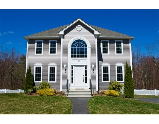 Single Family Home for Sale at 11 Carlsons Way Rutland, Massachusetts 01543 United States