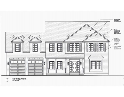 Maison unifamiliale pour l Vente à 6 Jill Kathleen lane Milton, Massachusetts 02186 États-Unis