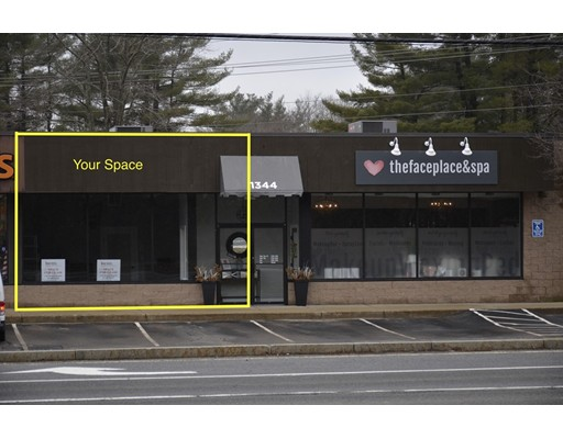 Commercial للـ Rent في 1344 Washington Street 1344 Washington Street Hanover, Massachusetts 02339 United States