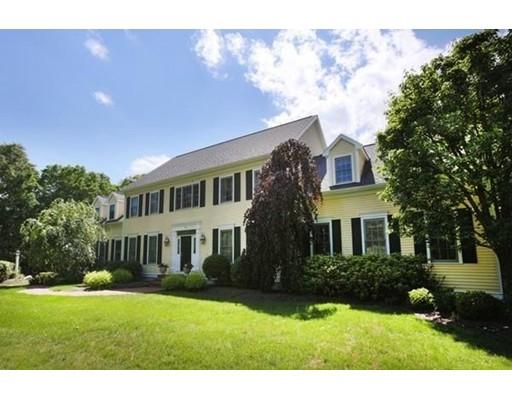 Частный односемейный дом для того Продажа на 15 Wadsworth Lane Sharon, Массачусетс 02067 Соединенные Штаты
