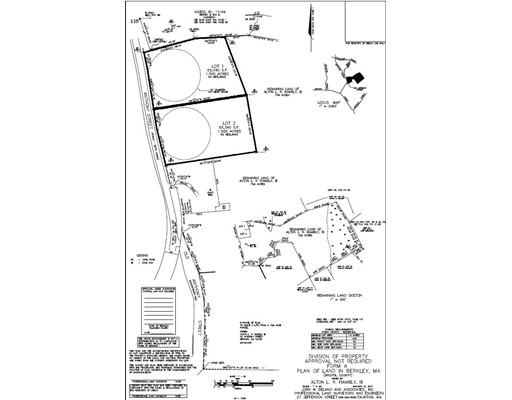 Terrain pour l Vente à Anthony Berkley, Massachusetts 02779 États-Unis