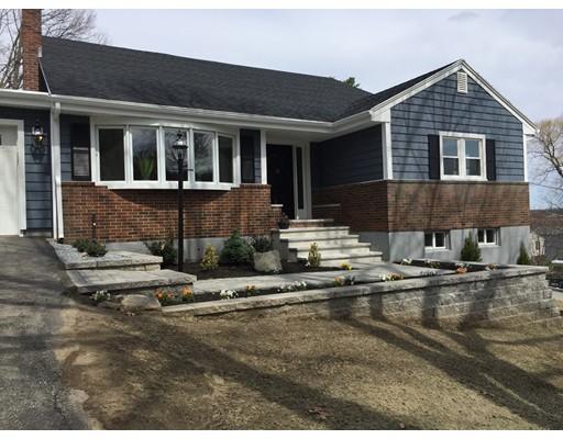 Частный односемейный дом для того Продажа на 21 Glenwood Avenue Woburn, Массачусетс 01801 Соединенные Штаты