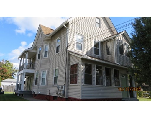 Single Family Home for Rent at 227 East Street Chicopee, Massachusetts 01020 United States