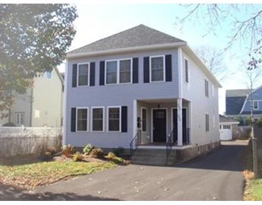 Casa Unifamiliar por un Alquiler en 393 Cherry Newton, Massachusetts 02465 Estados Unidos