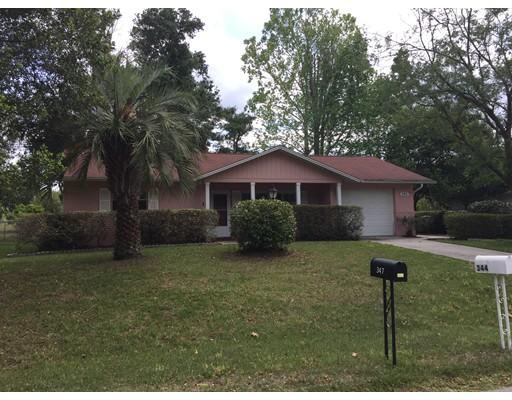 Частный односемейный дом для того Продажа на 344 W. Sugarmaple Lane Beverly Hills, Флорида 34465 Соединенные Штаты