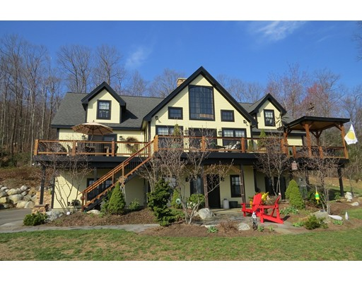 Частный односемейный дом для того Продажа на 329 Southampton Road Westhampton, Массачусетс 01027 Соединенные Штаты