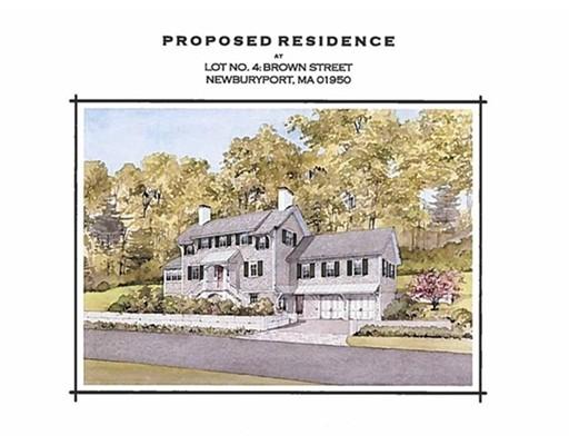 Single Family Home for Sale at 4 Brown Street Newburyport, Massachusetts 01950 United States